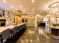 BlueSpeed-AV-Tulsa-Showroom-Technology-Full-Galley-Kitchen