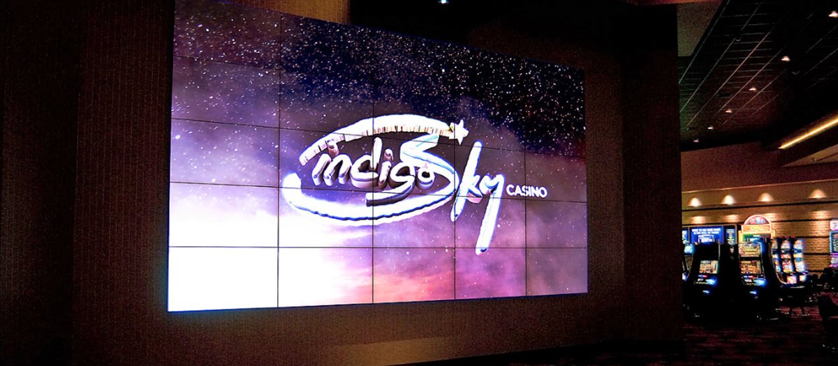 casinos- automation with video walls, audio, lighting, technology